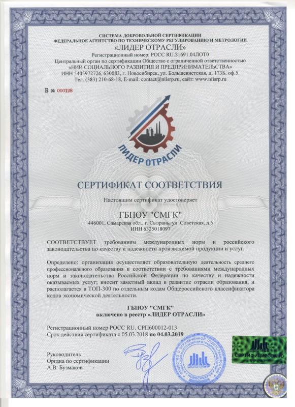 ГБПОУ Сызранский медико-гуманитарный колледж (1)
